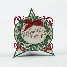 Christmas Frames - Holly Vine Die Set - 1370E