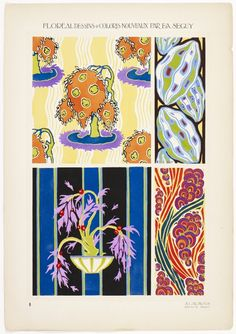 design-is-fine: E. A. Seguy, Floréal, Floral design & New colors, 1925. Published by A. Calavas, Paris. Via Wolfsonian
