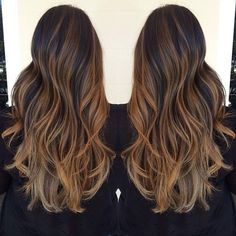 Ombré and highlights - My hair looks like this just due to all the experimentation home coloring / Sun In