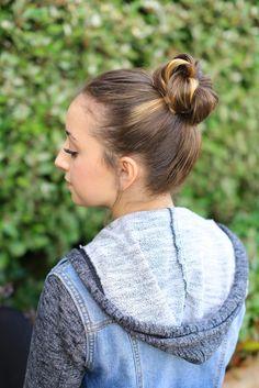 Crown Bun | Cute Girls Hairstyles