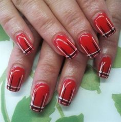 Red red red by Tinekevb from Nail Art Gallery