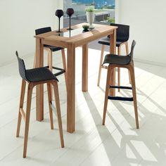 table bar haute hiba la redoute interieurs bois clair naturel table mesa pinterest. Black Bedroom Furniture Sets. Home Design Ideas