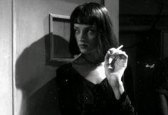 Uma Thurman in Pulp Fiction (1994).