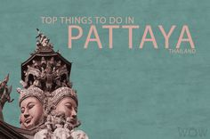 If you visit Thailand's east coast, you will find yourself in Pattaya, the city of enchanting nightlife and beautiful beaches. But Pattaya has so much more to offer.