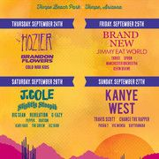 cool Kanye West headlines the 2015 Summer time Ends Pageant in Tempe, AZ Check more at http://worldnewss.net/kanye-west-headlines-the-2015-summer-time-ends-pageant-in-tempe-az/