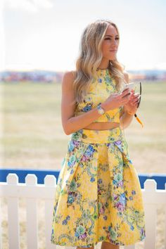 The 35 best street style looks spotted at the Veuve Clicquot Polo Classic: