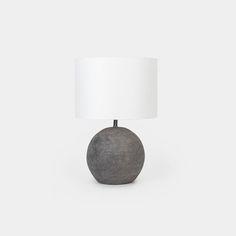 Terracotta Table Lamp– Shoppe Amber Interiors Kitchen Elevation, Stone Lamp, Tudor Style Homes, Amber Interiors, Bedroom Lamps, Master Bedroom, Contemporary Lamps, Black Lamps, Modern Lighting