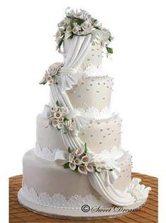 Ulang Tahun Pernikahan ke Suwarsono Elisa & Gresia T. Wedding Cake Prices, Floral Wedding Cakes, Cool Wedding Cakes, Beautiful Wedding Cakes, Gorgeous Cakes, Wedding Cake Designs, Wedding Cupcakes, Wedding Cake Toppers, Lace Wedding