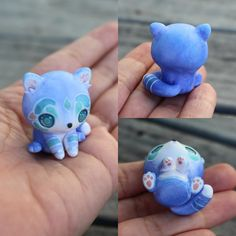 This is a precious baby blue wolf cub that will fit in the palm of your hand. It has been entirely hand sculpted and painted with watercolour effect details, and the eyes have been lightly domed to give a more life-like effect.  It will come glazed and carefully packaged!  -This little cutie is only 3cm tall!  ❤❤❤  Follow me on Instagram for news, updates & follower goodies: http://instagram.com/thelittlemew  Have a WONDERFUL day