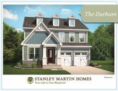 Stanley Martin Custom Homes | Durham Model | We Build On Your Lot