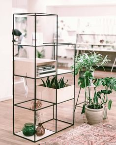 Thank you @abetterblend for sharing this pic! This beautiful concept store will be open until 31 december. shelving system/ KUBUS