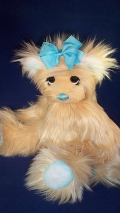 Sold Teddy bear artist teddy bear handmade one of by BearsbyCarrie,