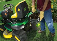 13 John Deere Attachments to Take on the Spring John Deere Lawn Mower, John Deere Tractors, Compact Tractor Attachments, Types Of Lawn, Yard Maintenance, Tractor Seats, Compact Tractors, Kubota, Car Stuff