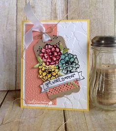 Get Well Wishes... | Rambling Rose Studio | Billie Moan