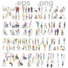 人物イラスト.com-フリー素材-People Illustrations People Illustrations, Photo Wall, Photograph
