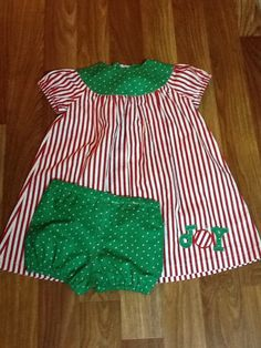 A personal favorite from my Etsy shop https://www.etsy.com/listing/241055393/toddler-girls-dress-with-bloomers