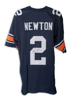 3a853a85707 AAA Sports Memorabilia LLC - Cam Newton Auburn Tigers Autographed / Signed  Navy Blue Jersey,