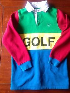 Golf Rugby Shirt Kelly Green Golfwang From Golfwang