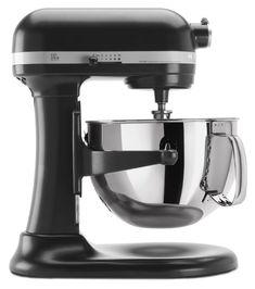 KitchenAid Professional 600 Series KP26M1XER Bowl-Lift Stand Mixer, 6 Quart, Licorice