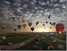 I love hot air balloons.