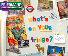 What do you put on your fridge? #Fridge #Kitchen #Home #Love www.friedmansappliancecenter.com #LongBEach