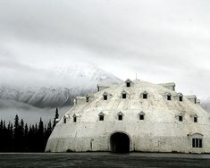 An abandoned igloo resort hotel in Alaska. photo Photo by Sara Heinrichs An abandoned igloo resort hotel in Alaska. photo Photo by Sara Heinrichs Unusual Buildings, Abandoned Buildings, Abandoned Places, Alaska Travel, Hotels And Resorts, Architecture, Old Houses, Places To See, Scenery