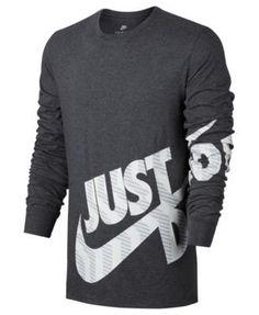 sneakers for cheap b29d5 be6ac Nike Men s Sportswear Logo Long-Sleeve T-Shirt Men - T-Shirts - Macy s