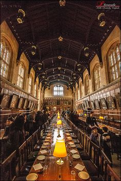 Pretty awesome that I've been there :)  --it Served as the Great Hall in Hogwarts - Oxford, England