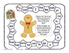 Roll and READ a sight word!   satpin k-1   Pinterest   Fry sight ...