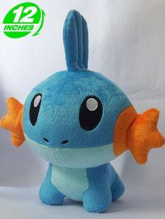 Pokemon Mudkip Plush Doll.