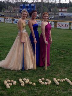 Prom baseball girlfriends