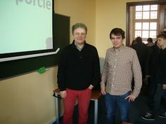 Eurosport's commentator Tomasz Jaroński and me in Warsaw! More and more autographs!