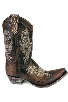 Mexicana cowboy boots Salome Brown
