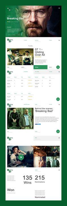 Breaking bad - Web design
