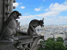 París y sus gárgolas