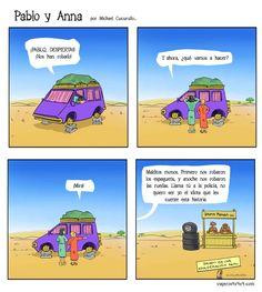 310- Qué hacer si te roban en la ruta | PABLO Y ANNA