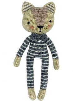 Organik sağlıklı Amigurumi oyuncak pijamalı kedi yapılışı yazımızda örgü severleri beklemektedir. Sizlerde keyifle örebilirsiniz. kafa: Krem renk ile; spiral çalışılır 1.- 9 sık iğne, 3sık iğne son…