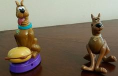 Scooby Doo Dog Cake topper Burger King Kids Meal  Zombieland 1996 98 #HannaBarbera