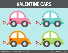 Valentine Vehicles Clipart - Digital Clip Art Graphics for Personal or Commercial Use Felt Kids, Newsletter Ideas, Patch Aplique, Quiet Books, Be My Valentine, Ephemera, Card Ideas, Transportation, Crafts For Kids