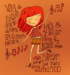 bailar - Buscar con Google Rock Argentino, Dance Art, Belly Dance, My Images, Girly Things, Ballet, Words, Quotes, Dancing