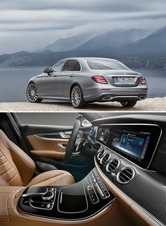 2017 Mercedes E-Class. -- Delivering new levels of luxury and a bunch of semi-autonomous driving technologies, like drive pilot assistance to keep you in your lane & evasive steering assist to safely correct a swerve, plus a range of MB's most efficient engines ever, the 2017 E-Class is bringing S-class excellence to their popular mid-size sedan.