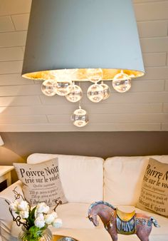 Make a Lampshade Chandelier Start to Finish Tutorial. 45 BEST Charming Lifestyle DIY & Tutorials...   !