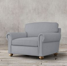 RH Lancaster Upholstered Chair-and-a-Half