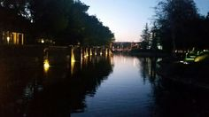 A place to stroll around this lakes during beautiful nights in SCV!