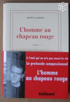 Hervé GUIBERT L'homme au chapeau rouge NRF