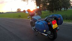 The end of the busy week, taking the Suzuki GS850G for a mind emptying ride.