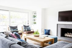 Before and After: An Incredibly Crisp California Redesign via @MyDomaineAU