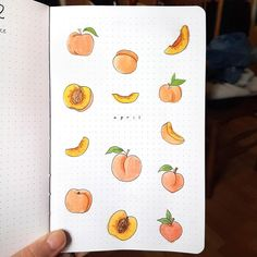 My cover page for my peach-themed April : bulletjournal My cover pag. - My cover page for my peach-themed April : bulletjournal My cover page for my peach-them - Bullet Journal Headers, Bullet Journal Month, Bullet Journal Cover Page, Bullet Journal Notebook, Bullet Journal Spread, Bullet Journal Layout, Bullet Journal Inspiration, Bullet Journals, Art Journal Pages
