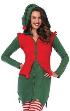Mens Christmas Elf Backless Waistcoat /& Bow Tie Santas Lil/' Helper X-mas Set