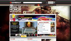 Habillage site / La guerre sur tous les fronts sur www.gamekult.com et www.jeuxvideo.fr